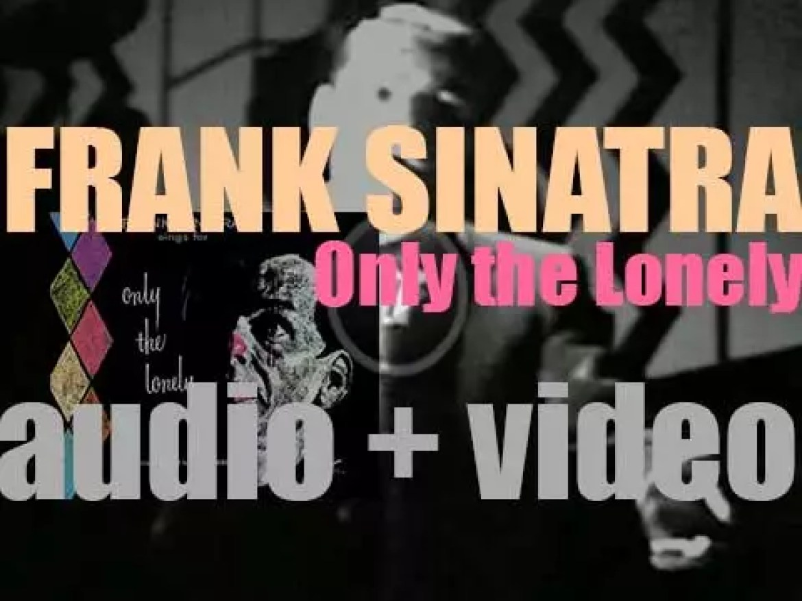 Frank Sinatra starts the recording of 'Frank Sinatra Sings for Only the Lonely' arranged by Nelson Riddle (1958)