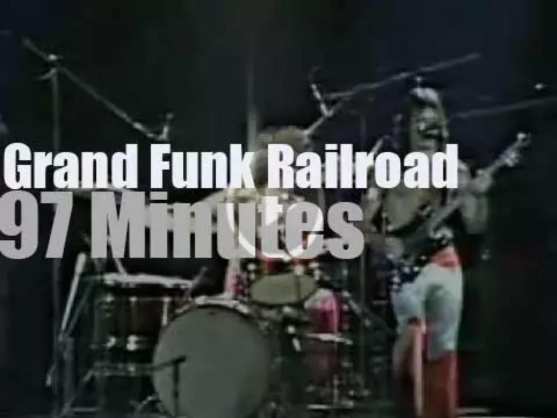 Grand Funk Railroad entertain in LA  (1974)