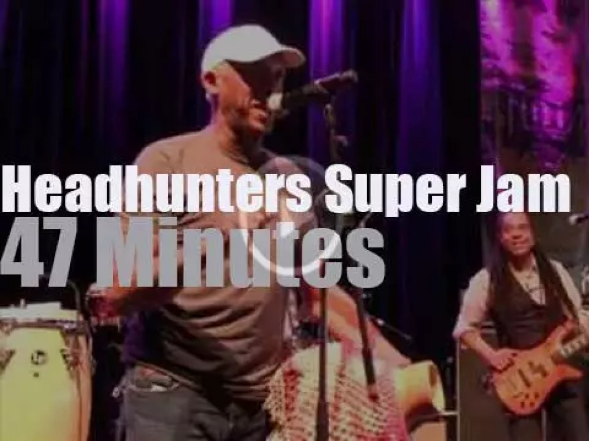 Headhunters Super Jam funks in New Orleans (2014)