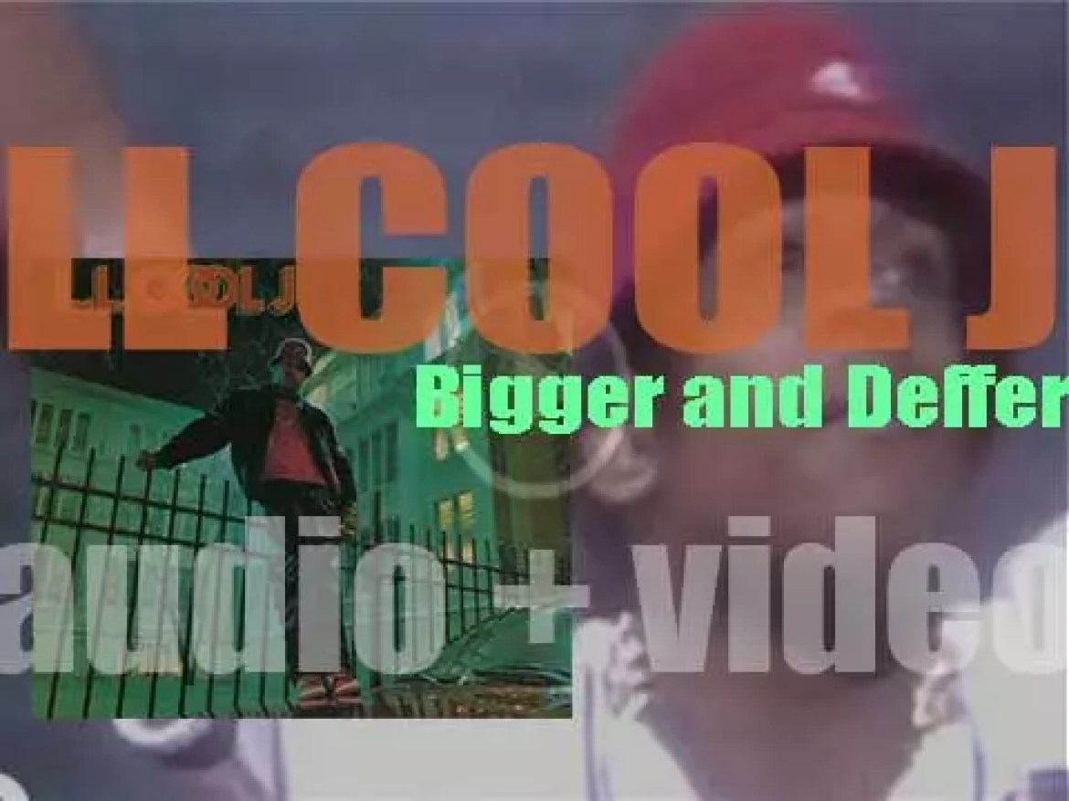 Def Jam release LL Cool J's 'Bigger and Deffer (BAD),' his second album (1987)
