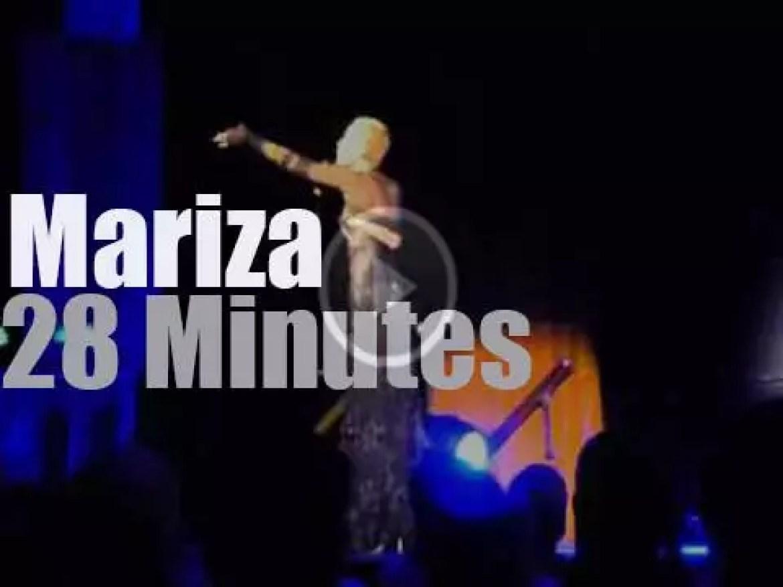 Mariza, a Fado diva in  London (2013)