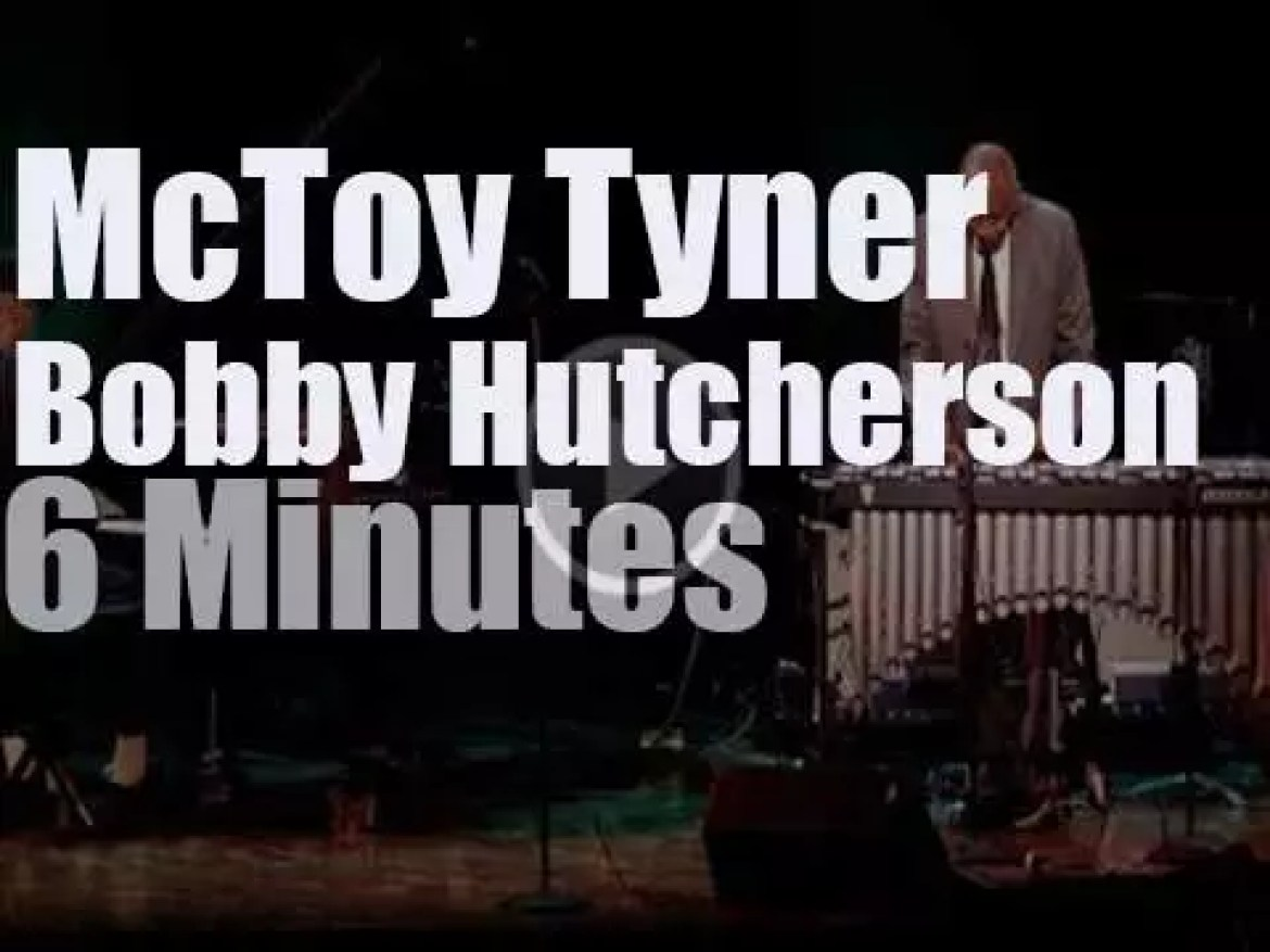 """McCoy Tyner & Bobby Hutcherson  together for """"Blue Note At 75"""" (2014)"""