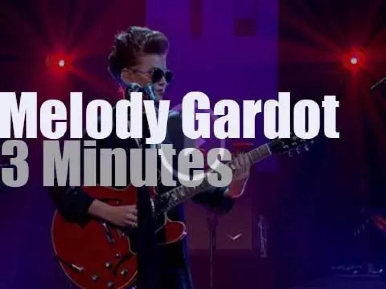 Melody Gardot sings on British TV (2015)