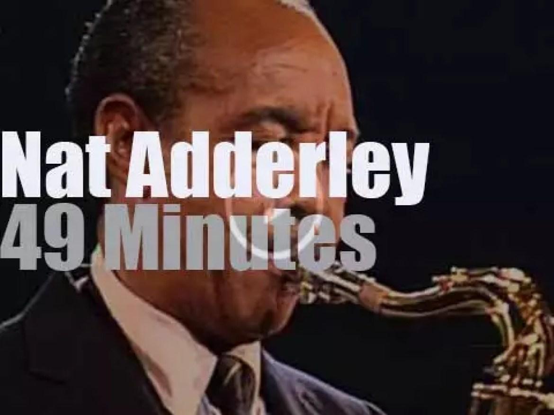 Nat Adderley Quintet plays in Bern, Switzerland (1987)
