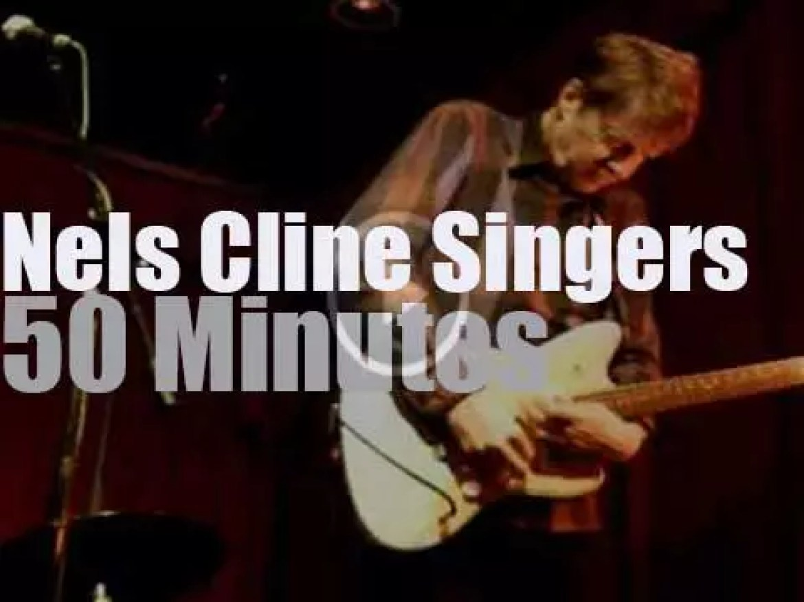 Nels Cline Singers perform in Baltimore (2014)