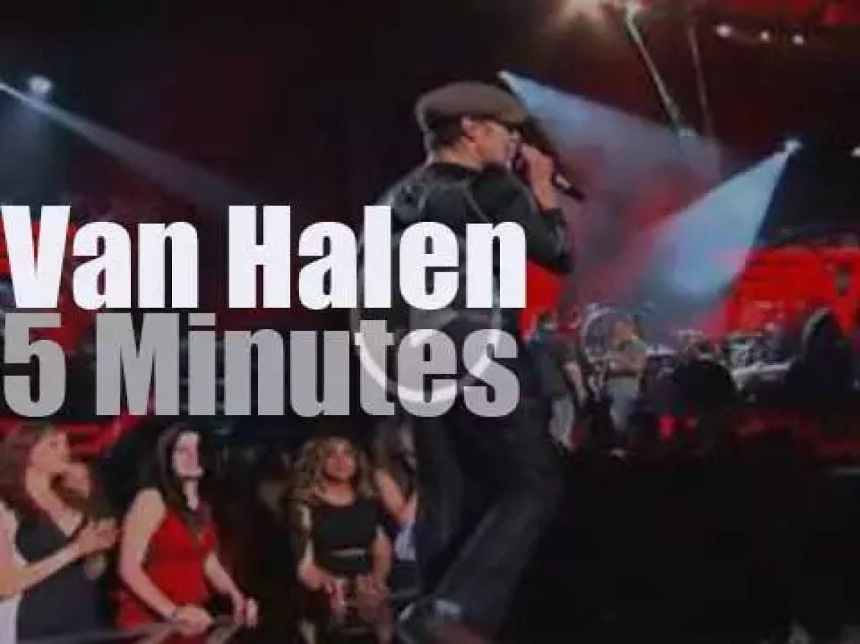 On TV today, Van Halen rocks the Billboard Music Awards  (2015)