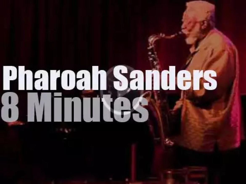 Pharoah Sanders plays at Birdland (2011)