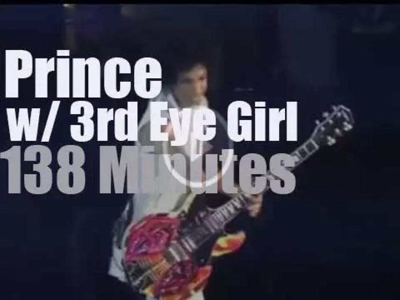 Prince & 3rd Eye Girl rock Manchester, UK (2014)