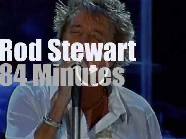 Rod Stewart closes the night in Lisbon (2008)