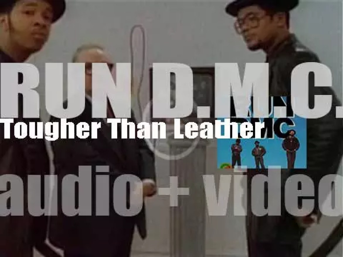 Run–D.M.C. release 'Tougher Than Leather,' their fourth album featuring  'Run's House' and 'Mary, Mary' (1988)