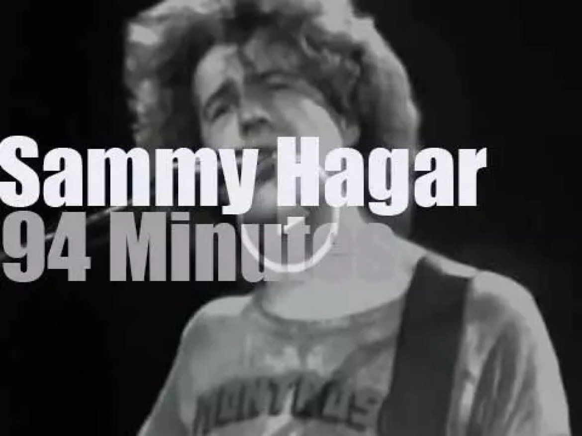 Sammy Hagar and guests are at Winterland (1978)