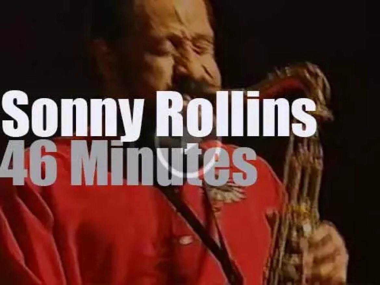 Sonny Rollins & 6tet play in Munich (1992)