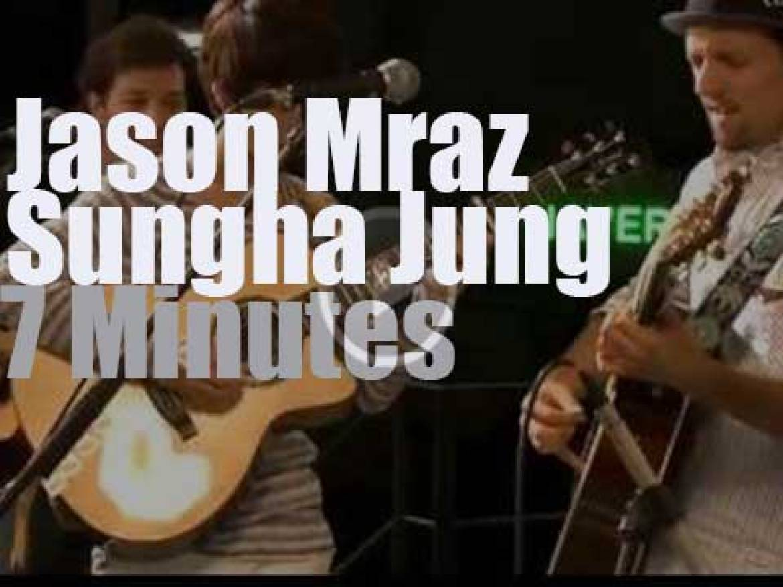 Sungha Jung joins Jason Mraz   (2013)