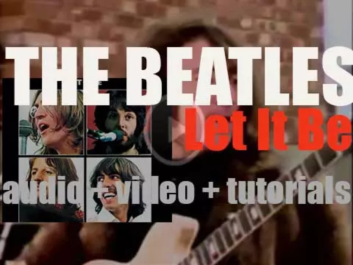 The Beatles release their final album : 'Let It Be' featuring 'Get Back' and 'The Long And Winding Road' (1970)