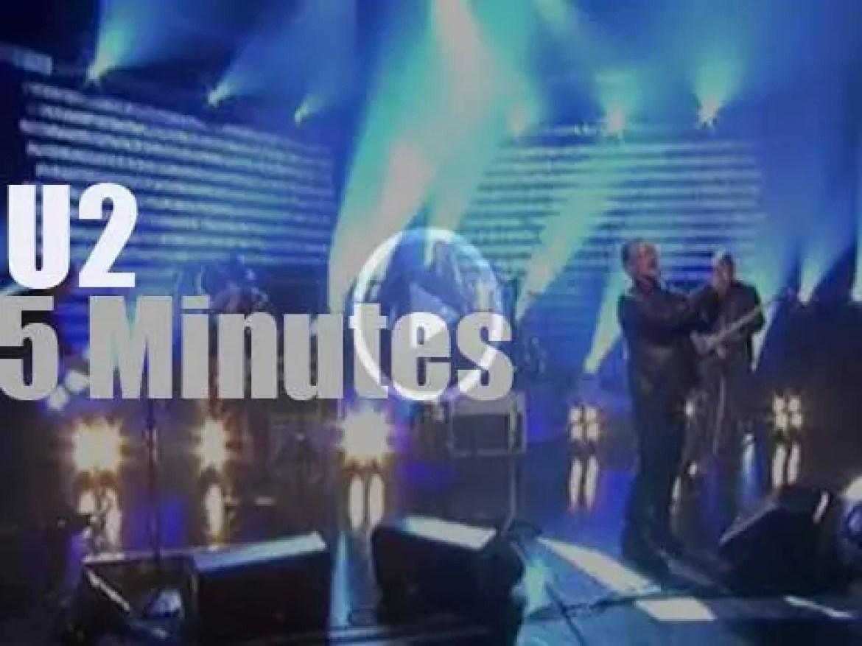 U2 present their new song on Irish TV (2009)