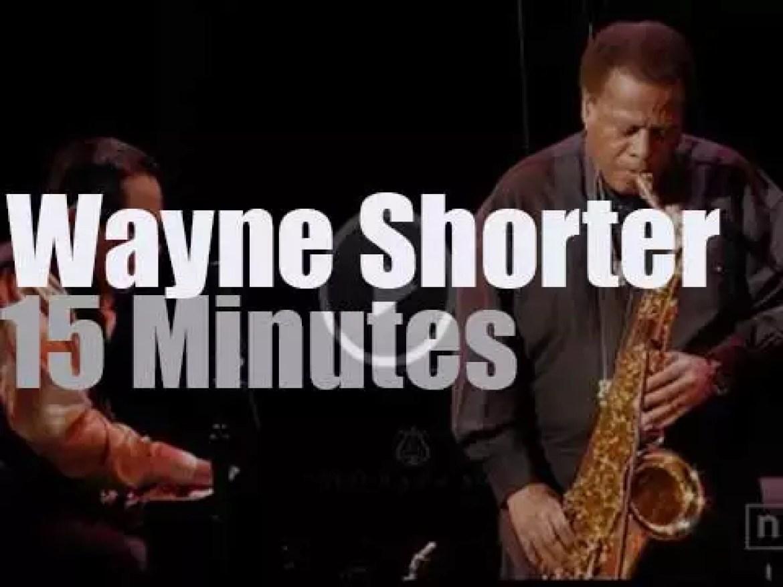 "Wayne Shorter Quartet plays for ""Blue Note At 75"" (2014)"