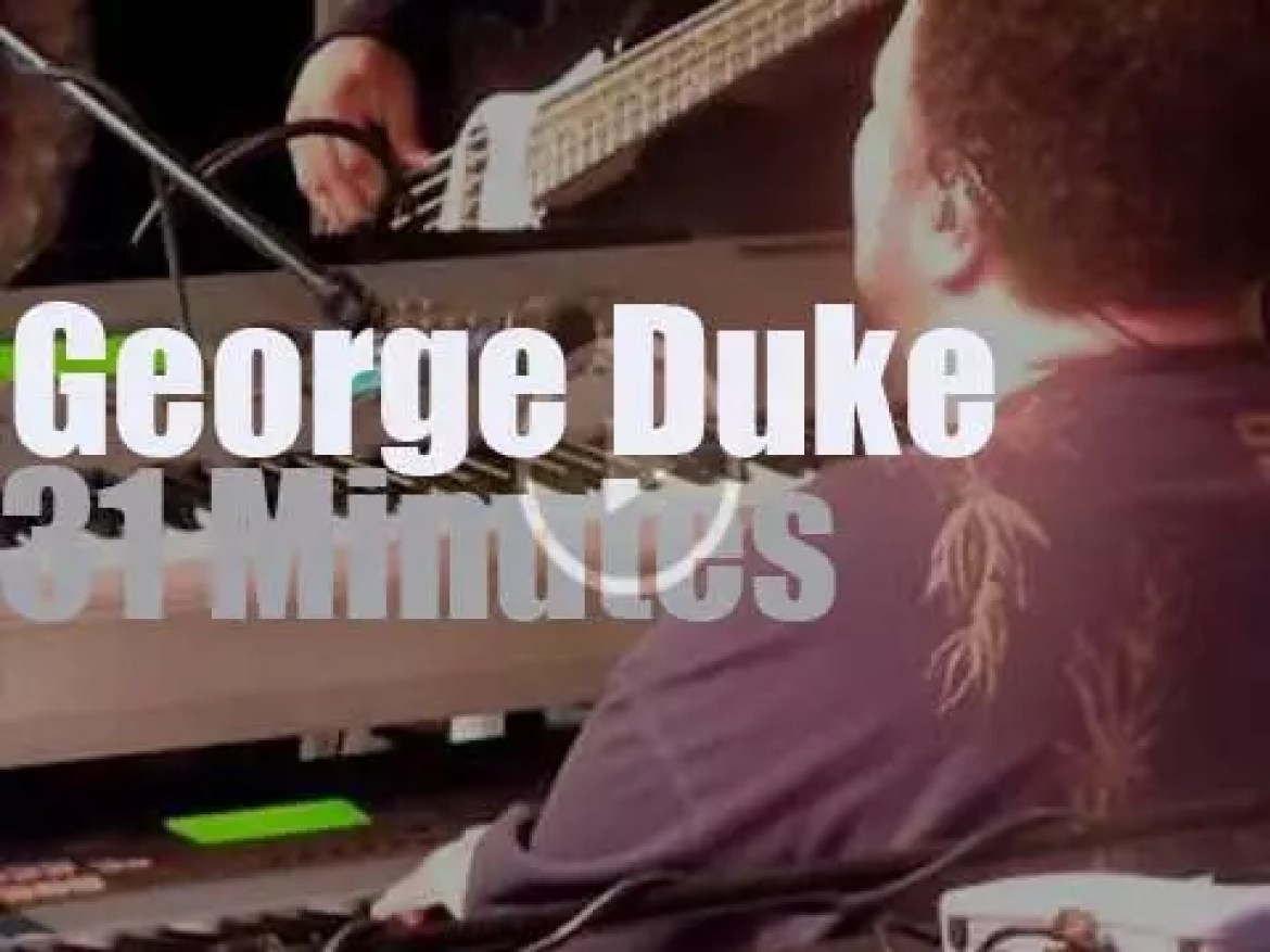 The George Duke Band is in Holland (2010)