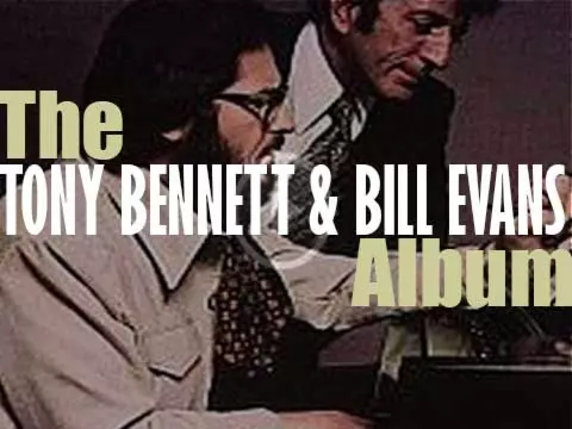 Tony Bennett and Bill Evans end the recording of 'The Tony Bennett Bill Evans Album' for Fantasy (1975)