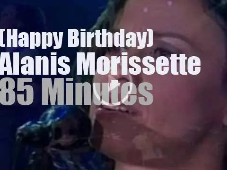 Happy Birthday Alanis Morissette