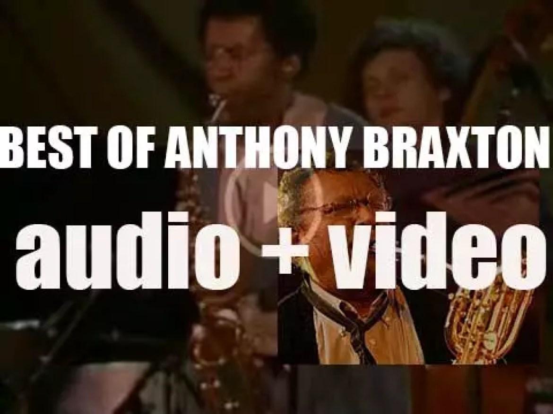 Happy Birthday Anthony Braxton. 'Professor Braxton'