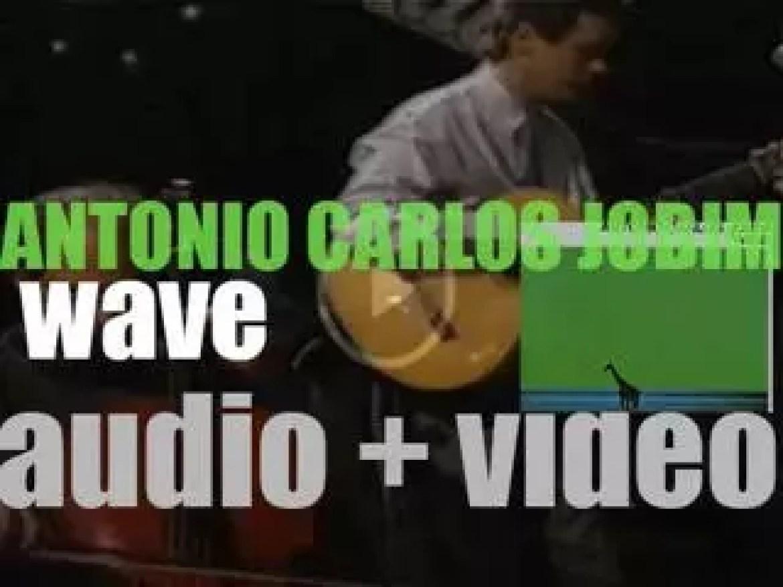 Antônio Carlos Jobim records 'Wave,' his fourth album for A&M (1967)