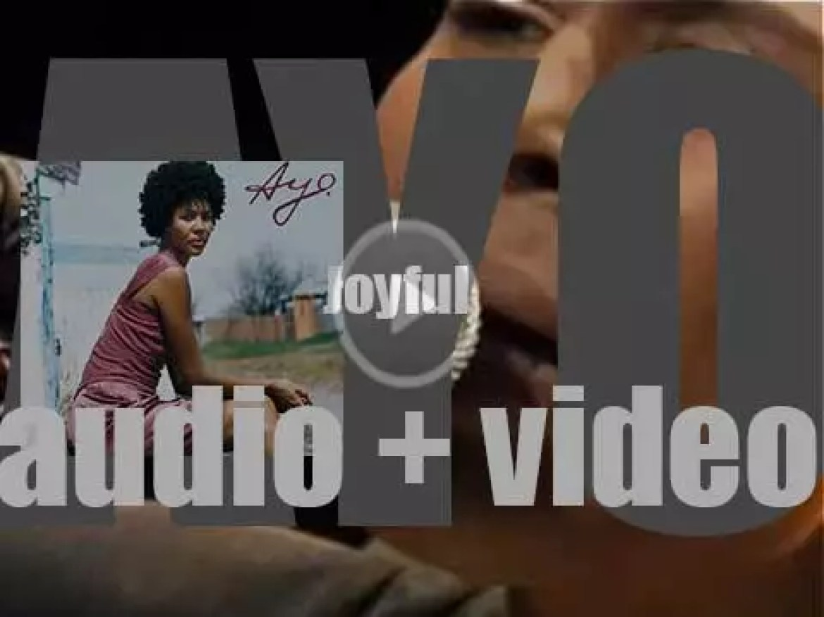 Polydor publish Ayo's debut album : 'Joyful' featuring 'Down On My Knees' (2006)