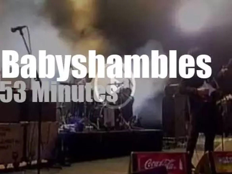 Babyshambles are at Rock Am Ring (2008)