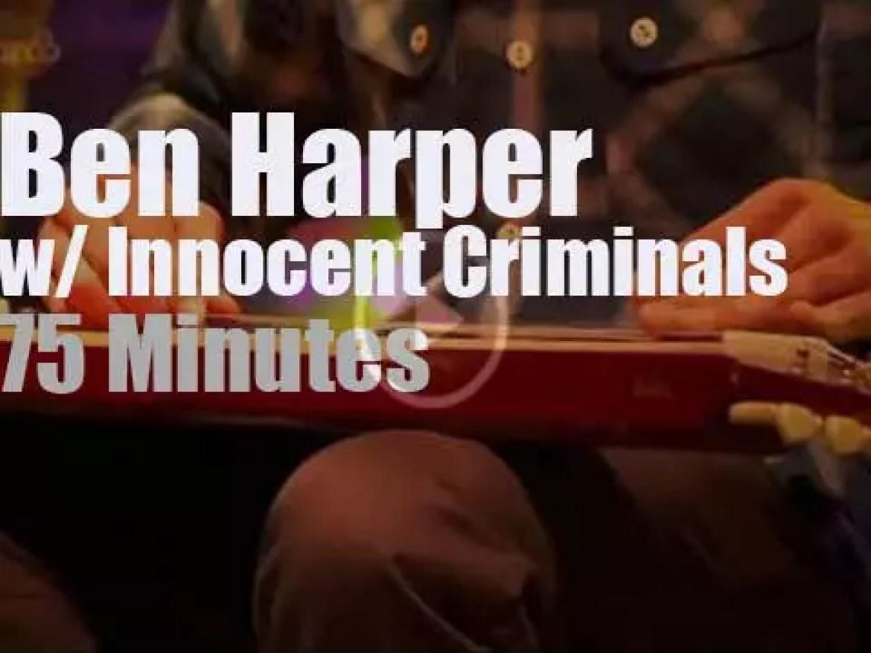 """Ben Harper & the Innocent Criminals are at """"Bonnaroo"""" (2015)"""