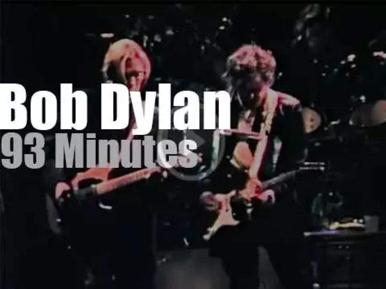 Bob Dylan sings In Toronto (1990)