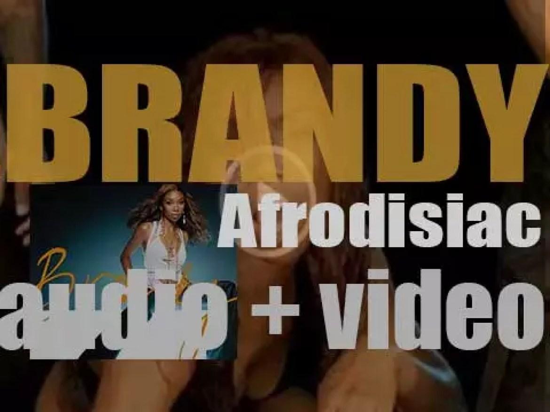 Atlantic Records release Brandy's 'Afrodisiac,' her fourth album (2004)