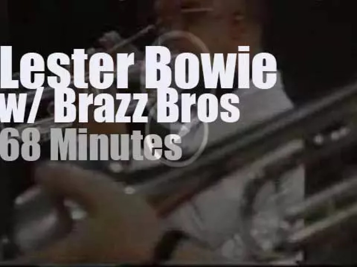 Lester Bowie sits in with the Brazz Bros at Jazz Baltica (1993)