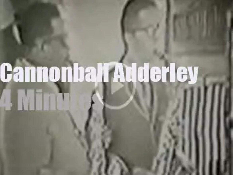 Cannonball Adderley plays Newport (1960)