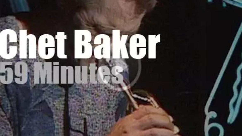 Chet Baker invites Van Morrison & Elvis Costello at Ronnie Scott's (1986)