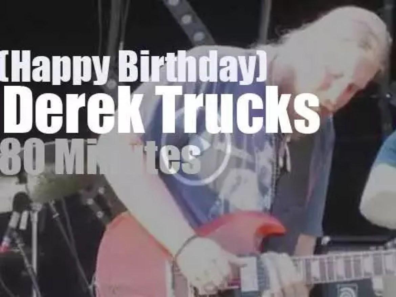 Happy Birthday Derek Trucks