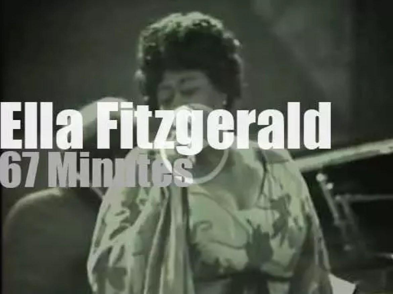 Ella Fitzgerald scats in Montreux (1969)