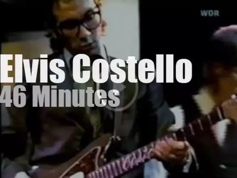 Elvis Costello is on German TV (1978)