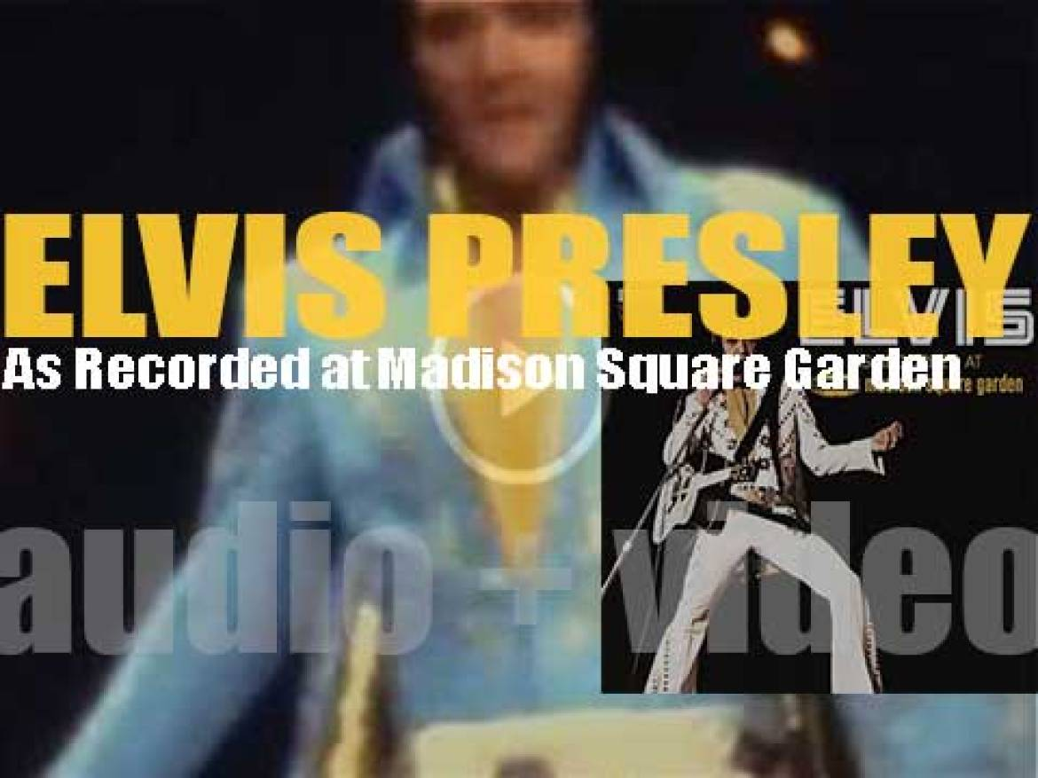 RCA publish 'Elvis: As Recorded at Madison Square Garden' (1972)