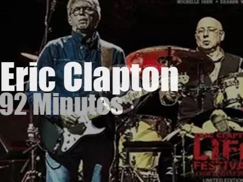 Eric Clapton visits Poland (2014)