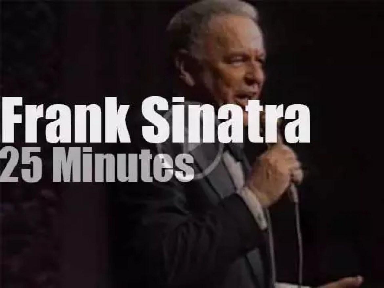 Frank Sinatra sings at Carnegie Hall (1980]