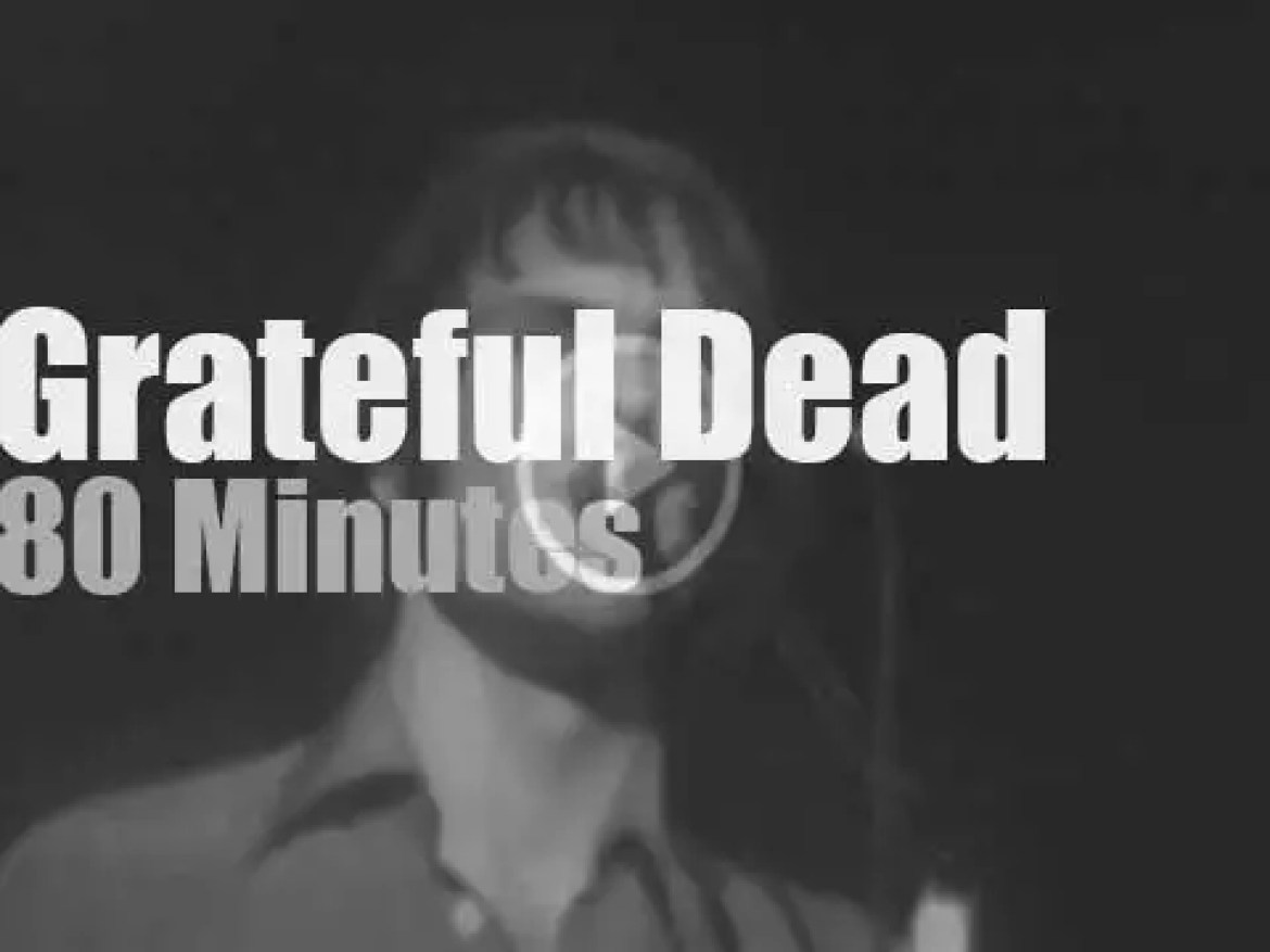 Grateful Dead play in New-Jersey (1976)
