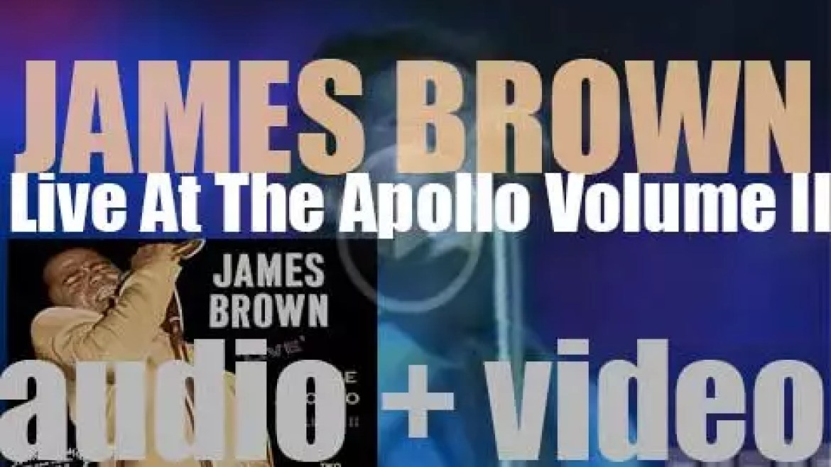 James Brown starts the recording of 'Live At The Apollo, Volume II' (1967)