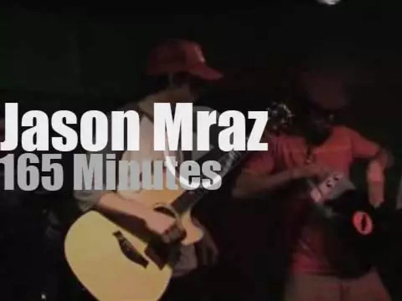 Jason Mraz debuts in a San Diego coffee-shop (2002)