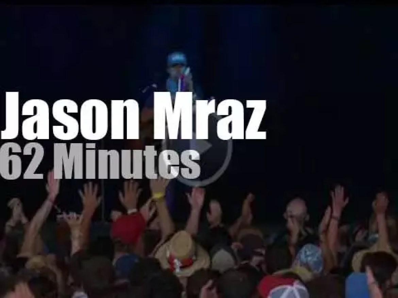 "Jason Mraz is at ""Bonnaroo"" (2016)"