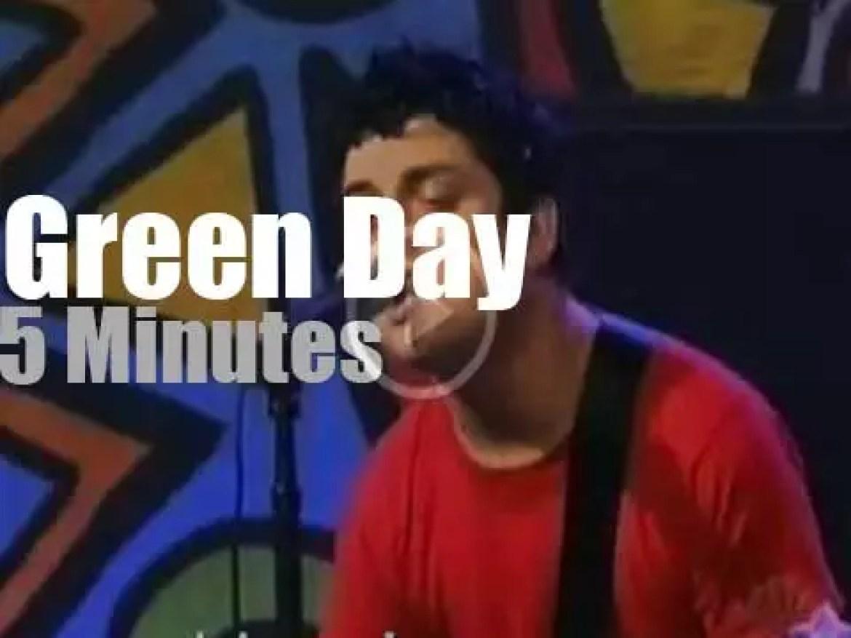 Jay Leno receives Green Day  (2001)