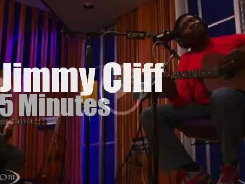 Jimmy Cliff is on KCRW (2012)