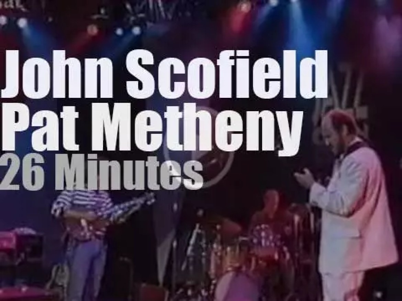 John Scofield & Pat Metheny team up in Stuttgart (1994)