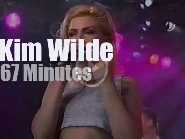 Kim Wilde attends a German Festival (1994)
