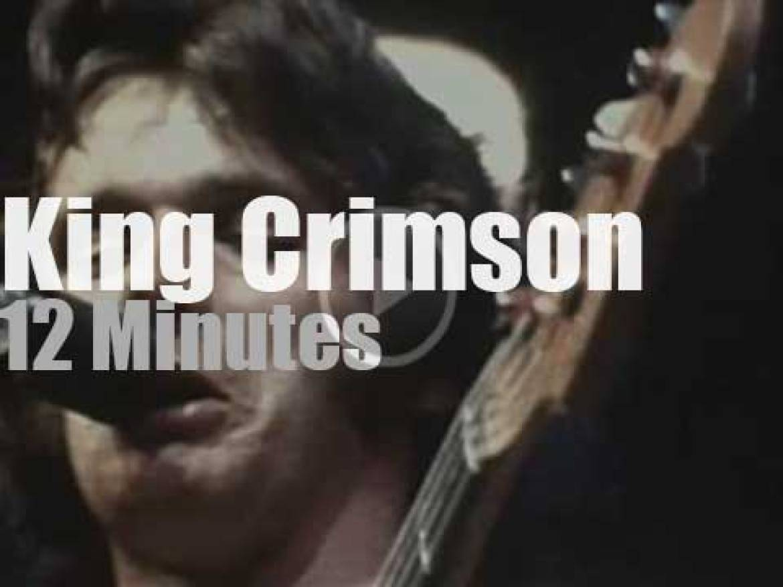 King Crimson are in New-York (1973)