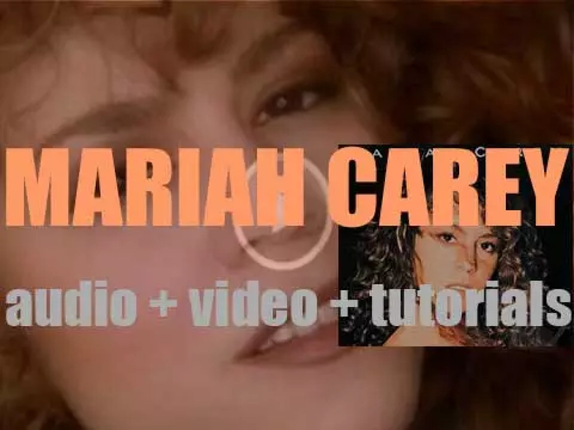 Columbia publish 'Mariah Carey,' her eponymous debut album featuring 'Vision of Love' (1990)