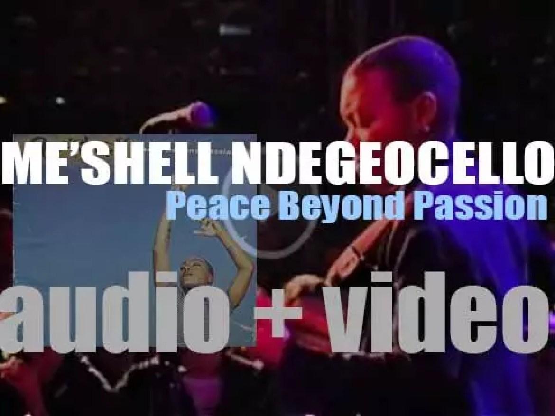 Maverick Records publish Me'shell Ndegeocello's 'Peace Beyond Passion' (1996)